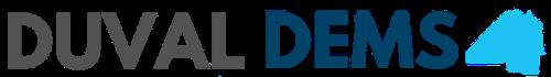 duval dems horizontal logo